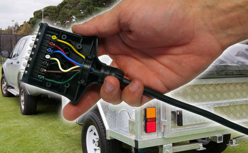 How To Wire Up A 7 Pin Trailer Plug Or Socket Kt Blog
