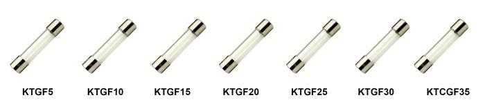 KT's Range of Glass Fuses