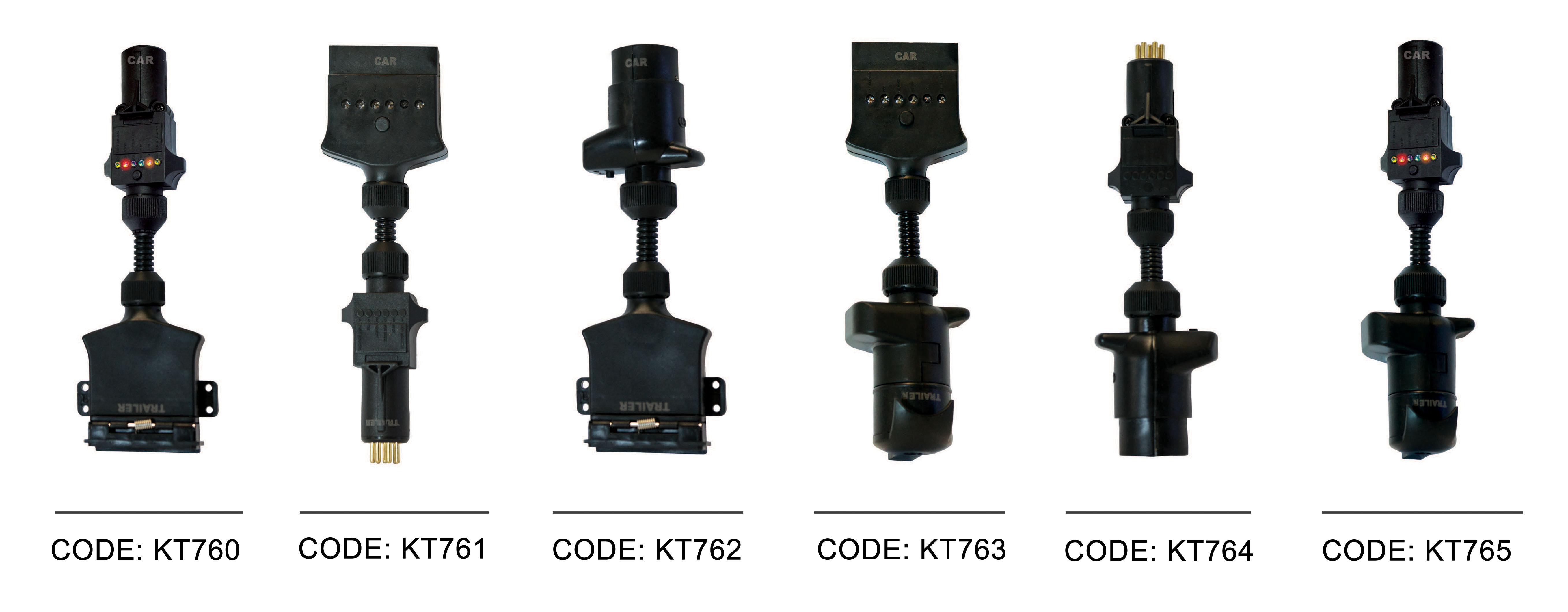 KT LED Adaptors Range