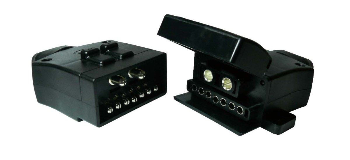Kt 9 Pin Trailer Plug  U0026 Sockets With 50amp Power