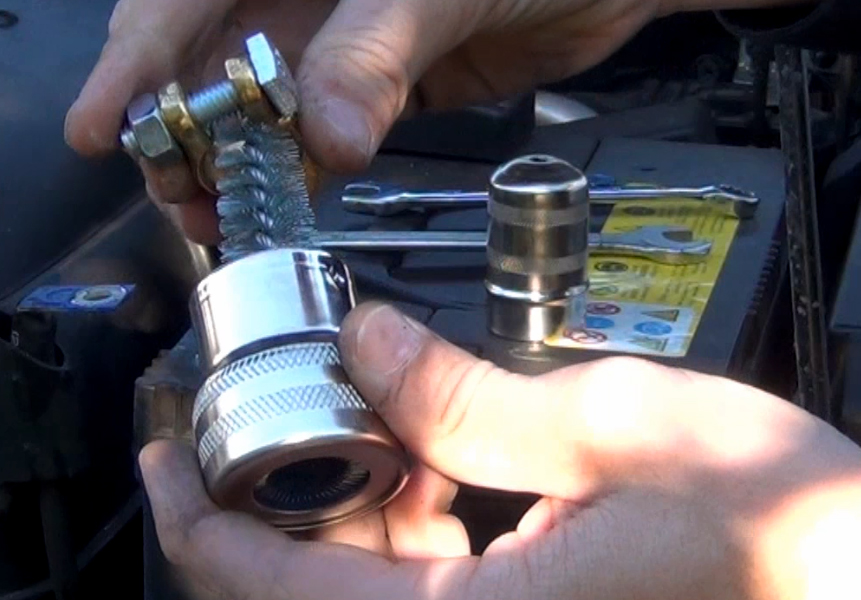 Battery Locking Clamp For Car