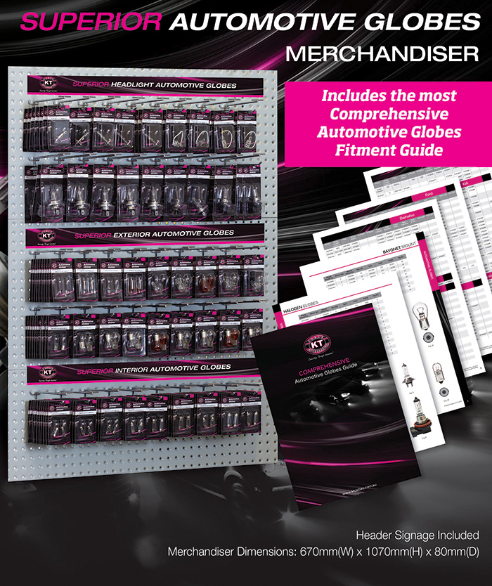 Globes Merchandiser NOW AVAILABLE1