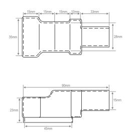 KT1104S (Retail Blister) Diagram