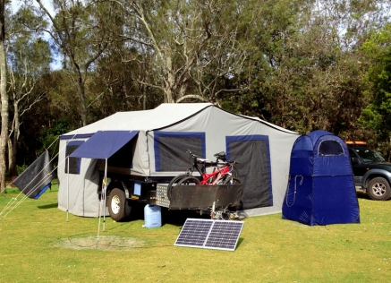 Ideal for camping