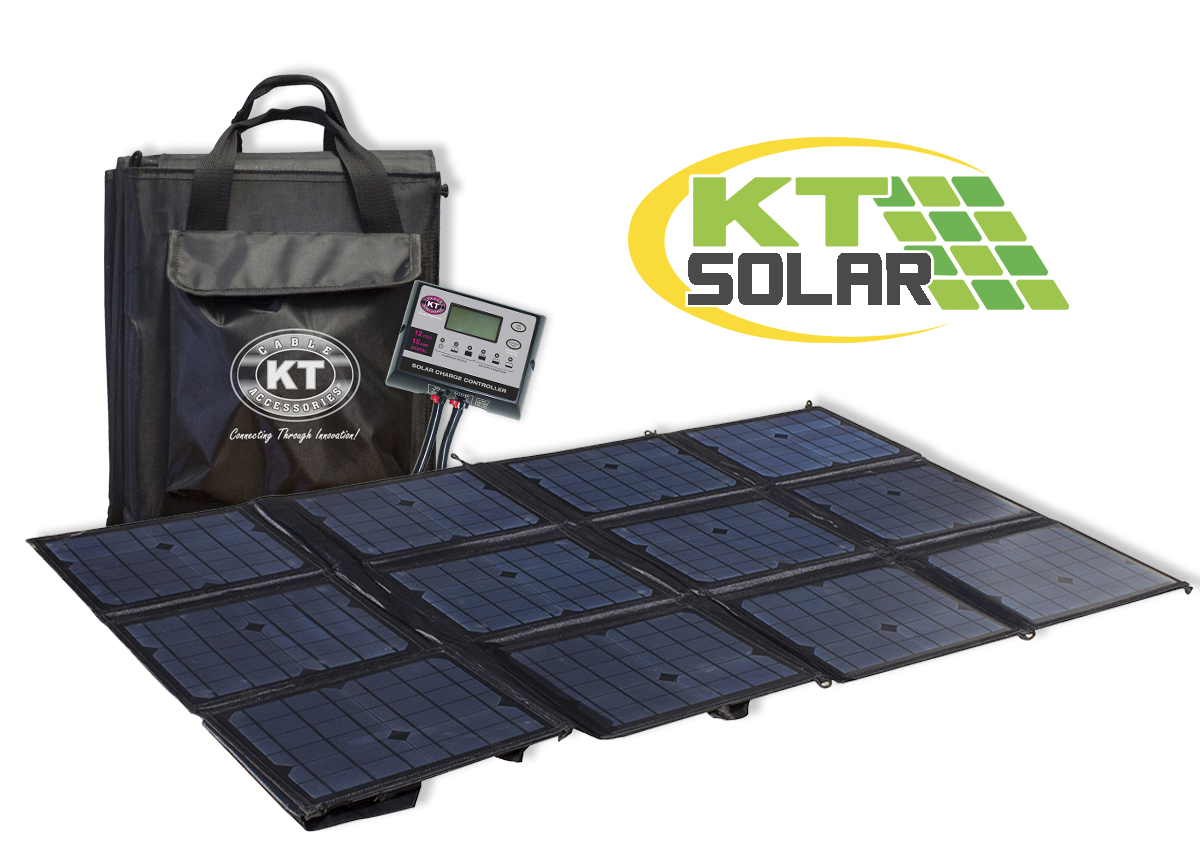 KT 150W Portable, Folding Solar Blanket