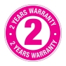 KT Warranty Logo 2 YEARS_51mmx51mm Label