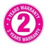 KT Warranty Logo 2 YEARS_51mmx51mm Label