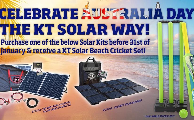 Celebrate Australia Day, The KT SolarWay!