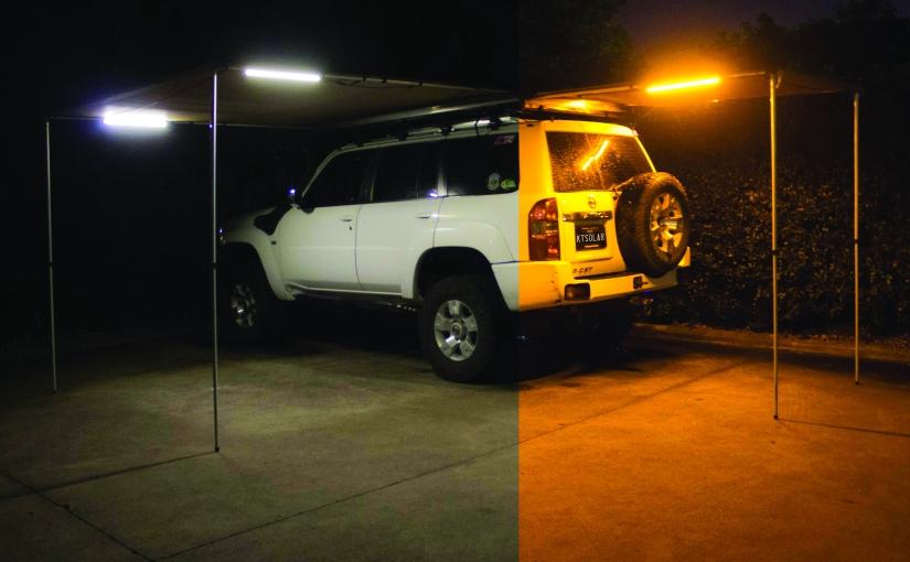 Dual Colour LED CampingLights